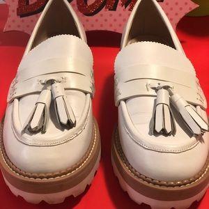 Zara fringed penny loafers 👞